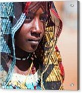 Hadji A Fulani Girl II Acrylic Print