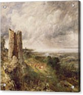 Hadleigh Castle Acrylic Print by John Constable