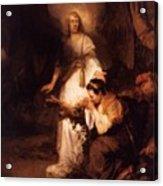 Hagar And The Angel 1645 Acrylic Print