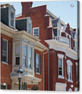 Hagerstown Cityscape Acrylic Print