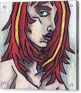 Haggard Acrylic Print