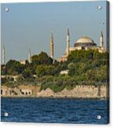 Hagia Sophia And Blue Mosque Acrylic Print