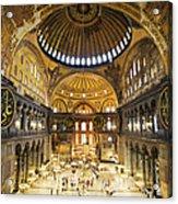 Hagia Sophia Interior Acrylic Print