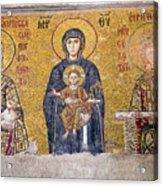 Hagia Sophia Mosaic Acrylic Print