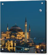 Hagia Sophia Museum Acrylic Print