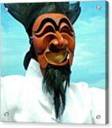 Hahoe Mask Acrylic Print