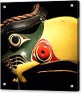 Kolus Mask Kwakwawak Mask 7 Acrylic Print