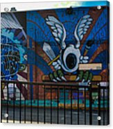 Haight Ashbury Mural Acrylic Print