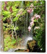 Haily Falls Acrylic Print by Marty Koch