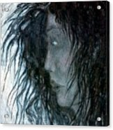 Hair Acrylic Print