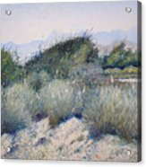 Hajar Mountains Oman 2002 Acrylic Print