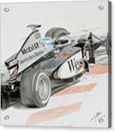 Hakkinen Victory In Luxembourg Gp 1998 Acrylic Print