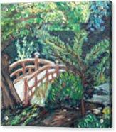 Hakone Garden Acrylic Print