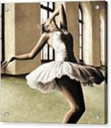 Halcyon Ballerina Acrylic Print