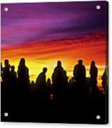 Haleakala Color Show Acrylic Print