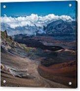 Haleakala Crater Acrylic Print