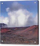 Haleakala Crater Maui Acrylic Print
