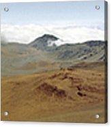 Haleakala Crater Panorama Acrylic Print