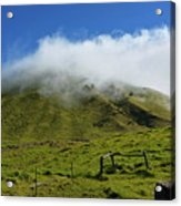 Haleakala Landscape Acrylic Print