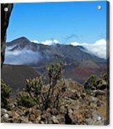 Haleakala Overlook Acrylic Print