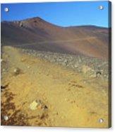 Haleakala Sliding Sands Trail In Volcano Acrylic Print