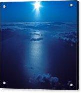 Haleakala Sunburst Acrylic Print