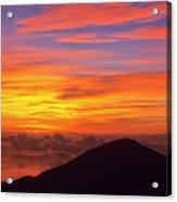Haleakala Sunrise Colors IIi Acrylic Print