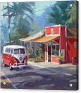 Haleiwa Acrylic Print by Richard Robinson