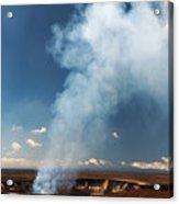 Halemaumau Crater 2016 Acrylic Print
