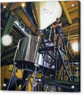 Hales Ales  Composition In Secondary Color Acrylic Print by Gregg Hinlicky