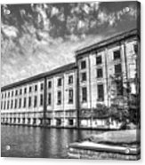 Hales Bar Dam B W Tennessee Valley Authority Tennessee River Art Acrylic Print