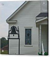 Half Church Acrylic Print