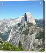 Half Dome From Inspiration Point Acrylic Print