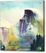 Half Dome Yosemite Acrylic Print