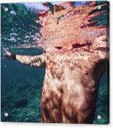 Half Man II Acrylic Print