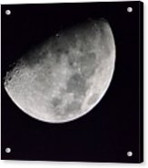 Half Moon Number Three Acrylic Print