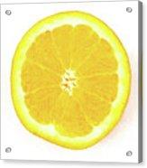 Half The Orange Acrylic Print