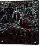 Halfabaskan Sleeping Acrylic Print