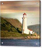 Halifax Harbor Lighthouse Acrylic Print
