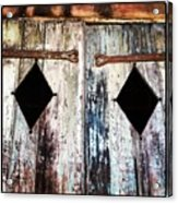Hall Doors Acrylic Print