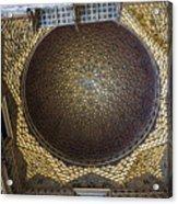 Hall Of Ambassadors - Alcazar Of Seville - Seville Spain Acrylic Print