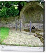 Hall Well - Tissington Acrylic Print