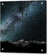 Hallet Peak - Milky Way Acrylic Print