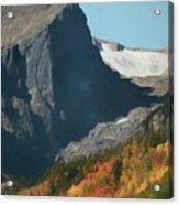 Hallett Peak Fall Colors Acrylic Print
