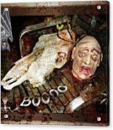 Hallo Boooo Acrylic Print