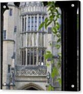 Hallowed Halls In Oxford Acrylic Print