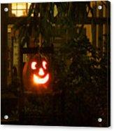 Halloween Beacon Acrylic Print by Cheri Randolph