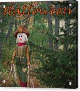 Halloween Card Acrylic Print