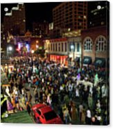 Halloween Draws Tens Of Thousands To Celebrate On 6th Street Acrylic Print