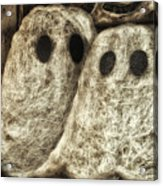 Halloween Ghosts Boo Acrylic Print